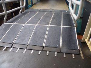 Anti-slip vloer industrie en logistiek