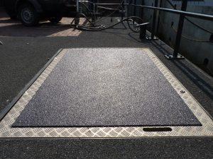 anti-slip vloer zware industrie